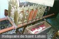 Reliquaire de Saint-Latuin