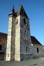 Eglise de la Chaussée-d'Ivry (Eure-et-Loir)