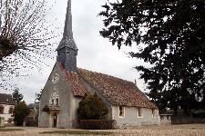 Eglise Saint-Roch à Sorel-Moussel (Eure-et-Loir)