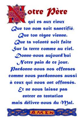 """""""Avent"""" et """"Notre Père"""""""