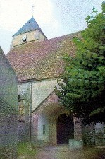 Eglise de Saint-Lubin-de-la-Haye (Eure-et-Loir)