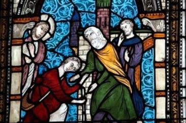 Eglise Saint-Nicolas de Rilly-la-Montagne ( Marne)  Le Pardon du Père à son Fils Prodigue.